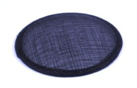 Navy Sinamay Hat Base in 2 Sizes